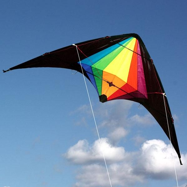 Black Widow stunt kite for teenagers and adults