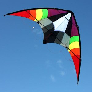Ikon 1.6m dual control stunt kite for teenagers and adults