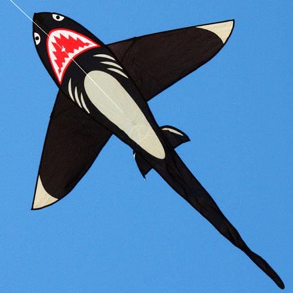 Shark kite single line kites for kids