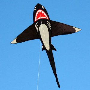 Shark kite in the sky
