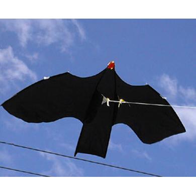 Sky crow bird scarer kite