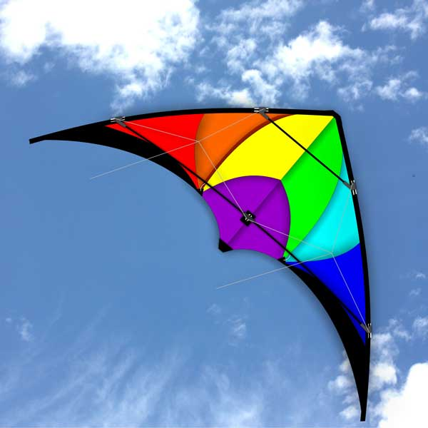 Monsoon Stunt Kite for young Teens in the sky