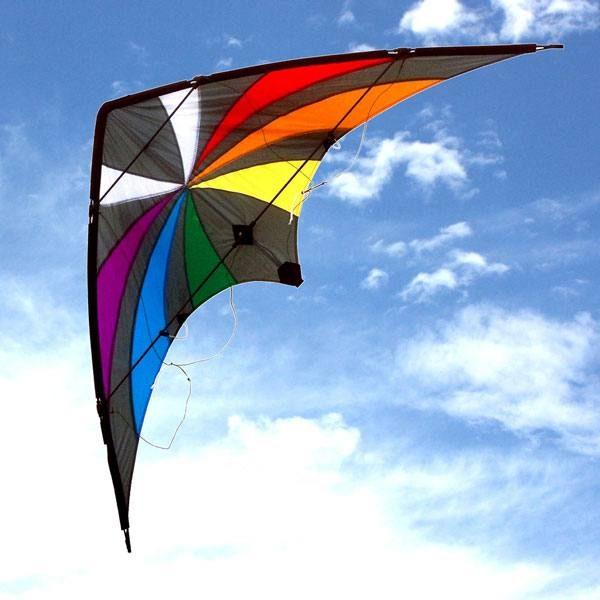 Backdraft dual control stunt kite