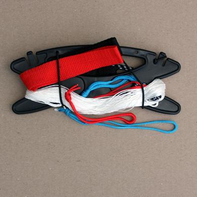 kite line, straps and winder