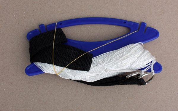 Set of Dacron lines for dual control kites
