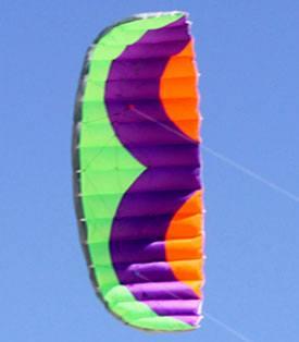 Calibre 3.0m parafoil dual control kite