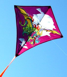 dragon diamond kite for kids