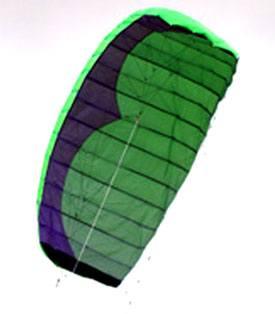 2.7m 4 line quadrifoil stunt kite for power