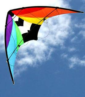 Stuntmaster dual control stunt kite for teenagers and adults