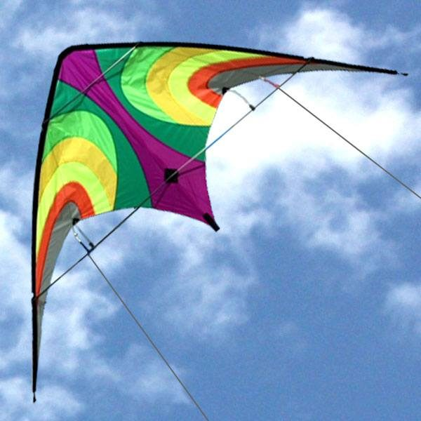 Leading Edges Offshore Tropical high performance dual control stunt kite