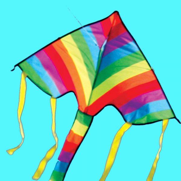 Mini Delta rainbow kite for kids