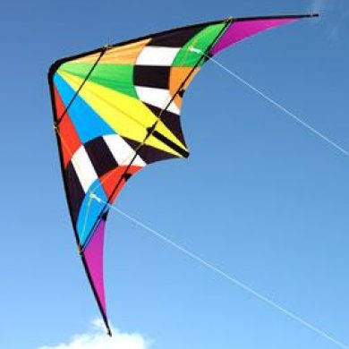 Firestorm 1800mm dual control stunt kite for teenagers and adults
