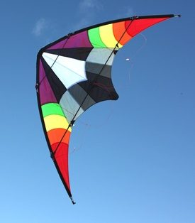 Ikon dual control stunt kite for teenagers and adults
