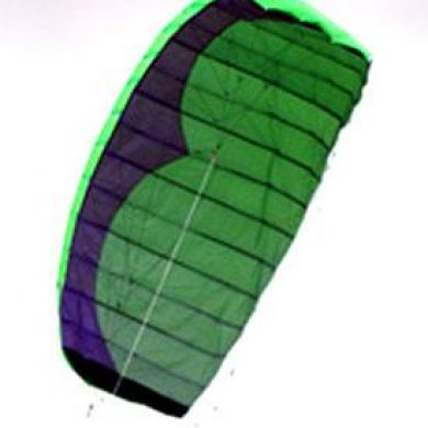 2.7m 4 line quadrifoil stunt kite for power