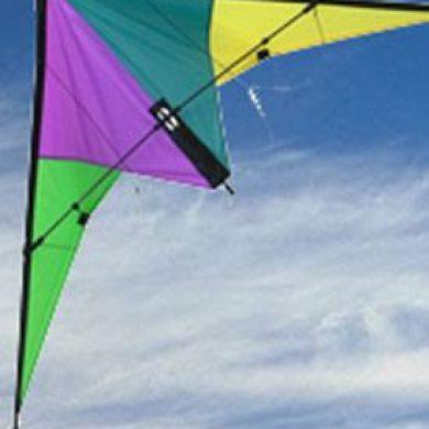 Razorback carbon framed high performance stunt kite